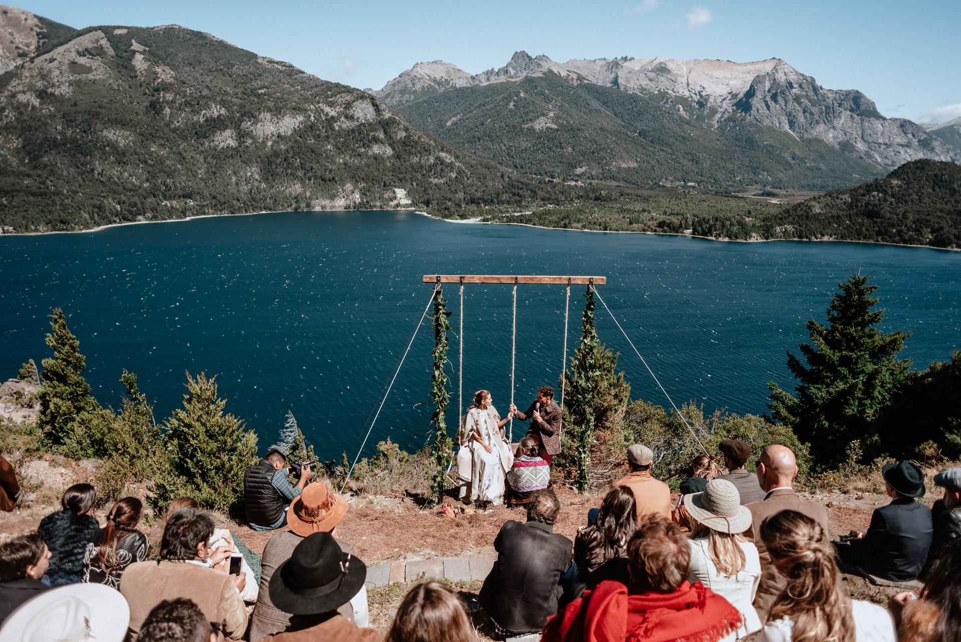 mountain wedding patagonia elopement