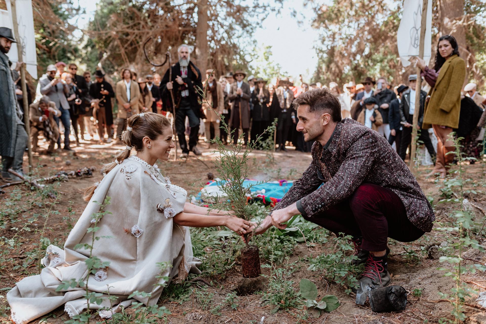 boda en comunión con la naturaleza patagonia